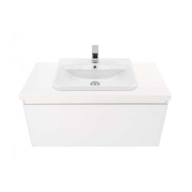 Ravani 900 Wall Hung Vanity in Gloss White