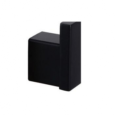 Matt Black Robe Hook 6401