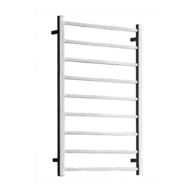 ST85 - 1060x450 9 Bar Square Heated Towel Rail