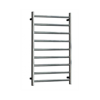 SL155 - 1060x450 9 Bar Round Heated Towel Rail