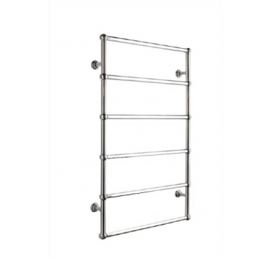 SL330L - 1000x600 L-H Wiring 6 Bar Round Heated Towel Rail