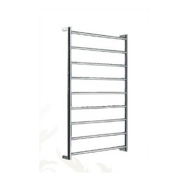 SL340R - 1000x600 R-H Wiring 9 Bar Round Heated Towel Rail