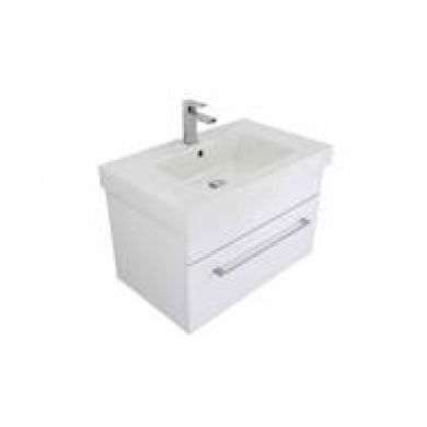3200VA - Citi 750 Wall Hung Composite Vasto Ari Vanity in Gloss White