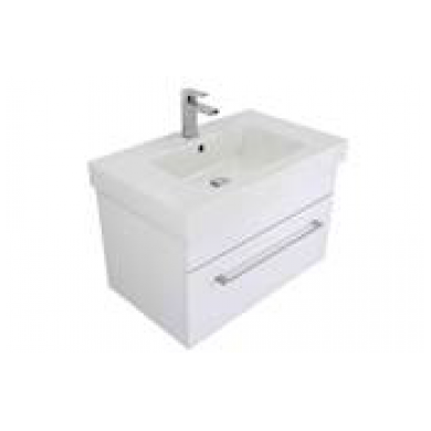 3220VR - Citi 900 Wall Hung Composite Vasto Rosa Vanity in Gloss White