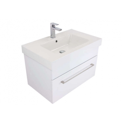 3200V - Citi 750 Wall Hung Composite Vasto Vanity in Gloss White