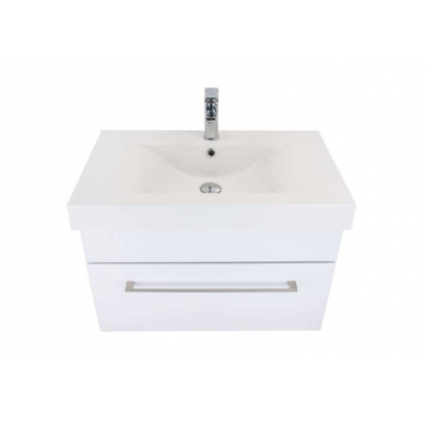 3200Plus - Citi 750 Wall Hung Composite Plus Vanity in Gloss White