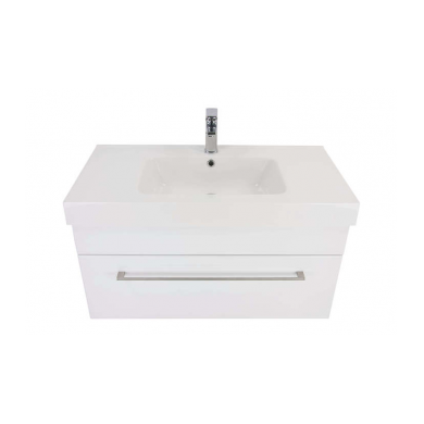 3220V - Citi 900 Wall Hung Composite Vasto Vanity in Gloss White