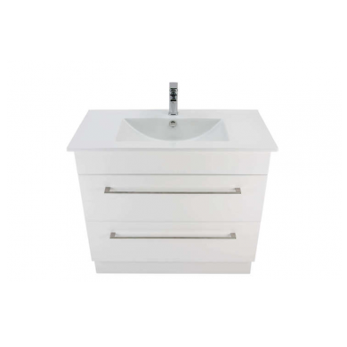 3230 - Citi 900 Floor Standing 2 Drawer Vanity in Gloss White