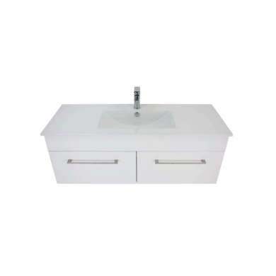 3240 - Citi 1200 Wall Hung 2 Drawer Vanity in Gloss White