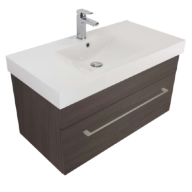 3220Plus - Citi 900 Wall Hung Composite Plus Vanity in 7 Colours