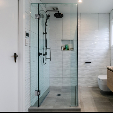 Custom Frameless Shower
